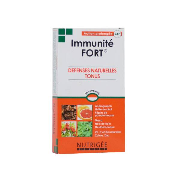 Nutrigée Immunité Fort 30 comprimés