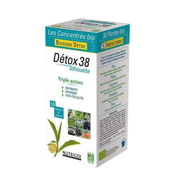 Nutrigée Boisson Détox 38 Plantes Silhouette 300ml