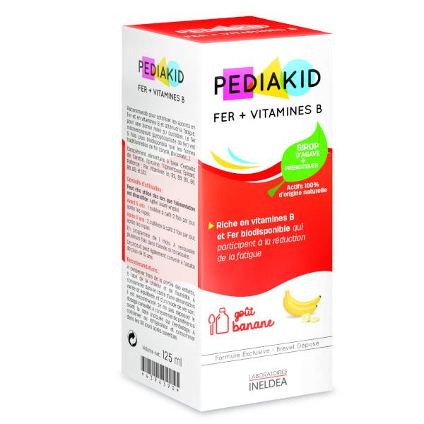 Pediakid Fer+Vitamines B 125ml