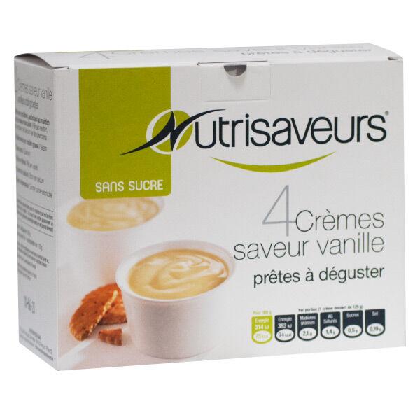 Nutrisaveurs Crème Vanille 4 unités