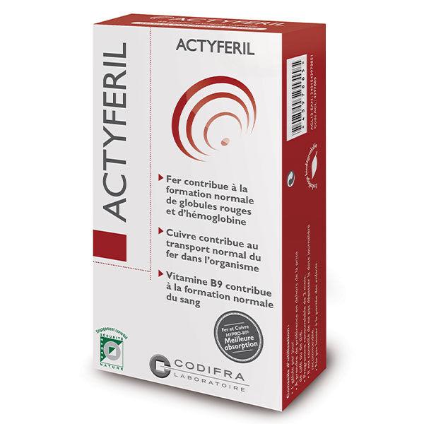Codifra Actyferil 60 gélules