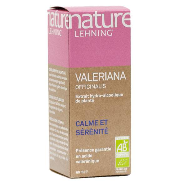 Lehning Nature Valériane Officinalis Extrait de Plante Active 60ml