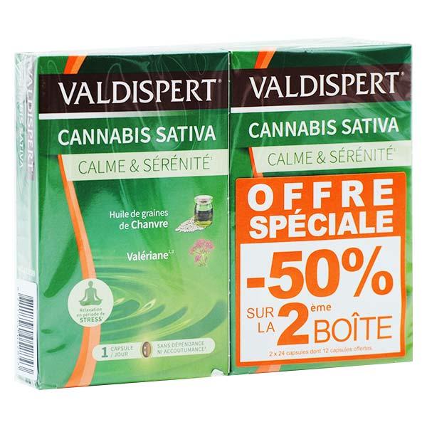 Vemedia Valdispert Calme & Sérénité Lot de 2 x 24 capsules