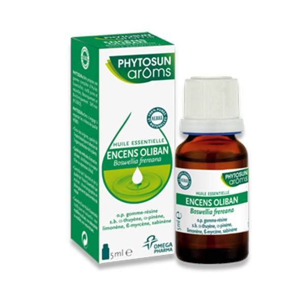Phytosun Aroms Huile Essentielle Encens Oliban 5ml
