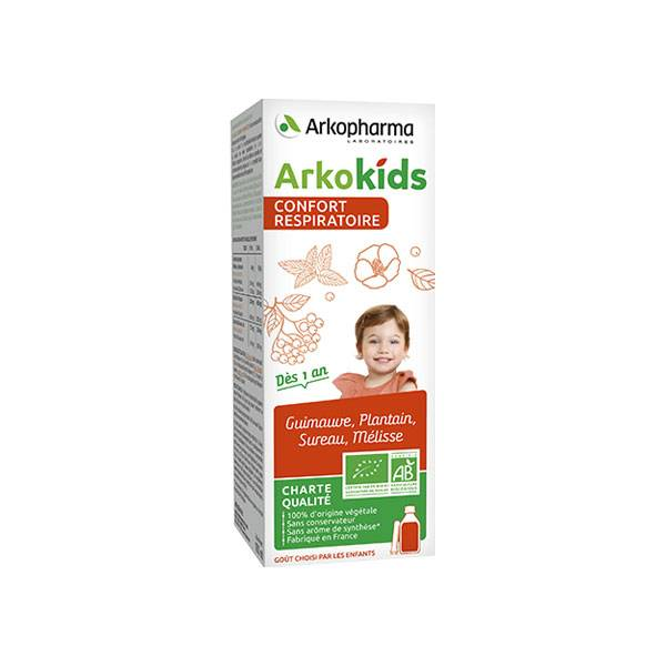 Arkopharma Arkokids Sirop Confort Respiratoire 100ml