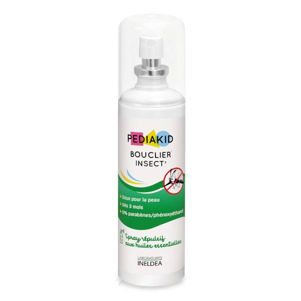 Pediakid Bouclier Insect Spray Flacon 100ml