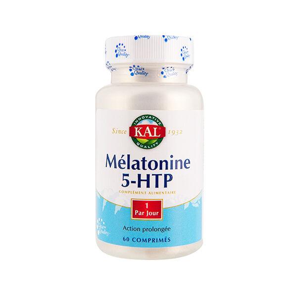 Kal Mélatonine + 5HTP 50mg 60 comprimés