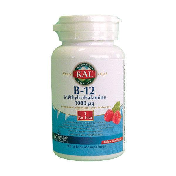 Kal Vitamine B12 1000µg 90 micro-comprimés