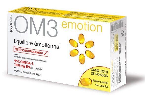 OM3 Premium Équilibre Émotionnel 45 capsules