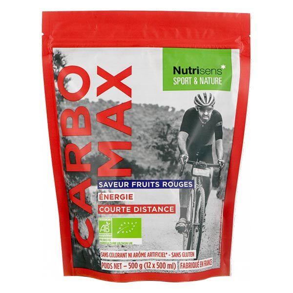 Nutrisens Sport & Nature Carbomax Saveur Fruits Rouges Bio 500g