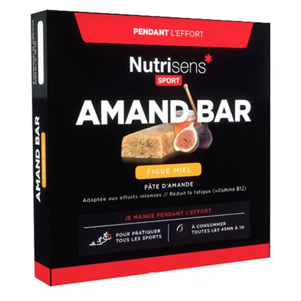 Nutrisens Sport Amand Bar Figue Miel Bio 4 unités