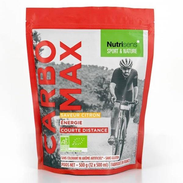 Nutrisens Sport Carbomax Saveur Citron Bio 500g