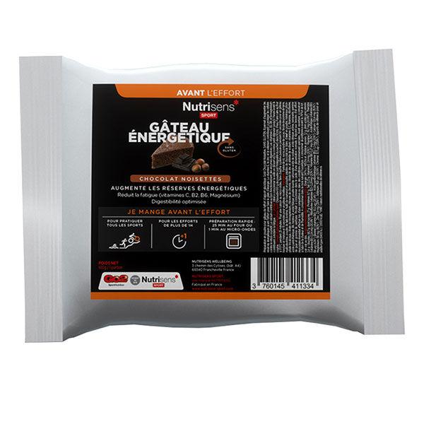 Nutrisens Sport Gâteau Energétique Chocolat Noisettes 100g