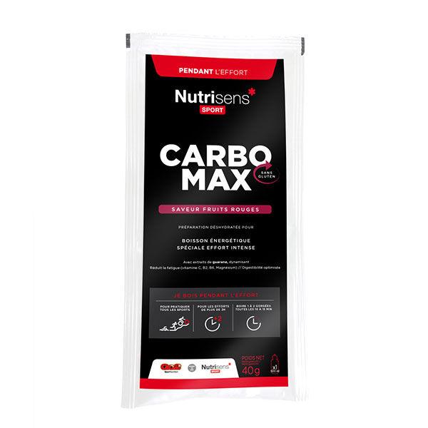 Nutrisens Sport Carbo Max Fruits Rouges 40g