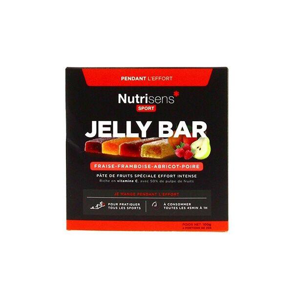 Nutrisens Sport Jelly Bar Panachés 4 barres de 25g