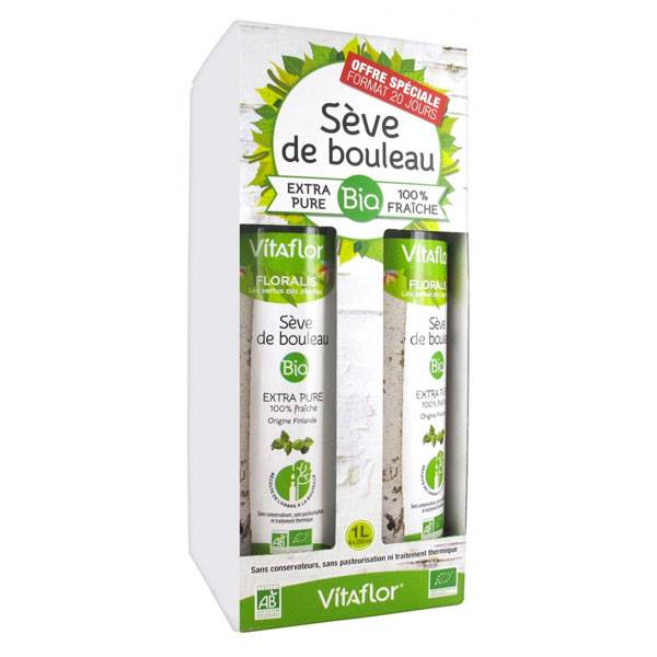 Vitaflor Bio Vitaflor Sève de Bouleau Bio 4 X 250ml