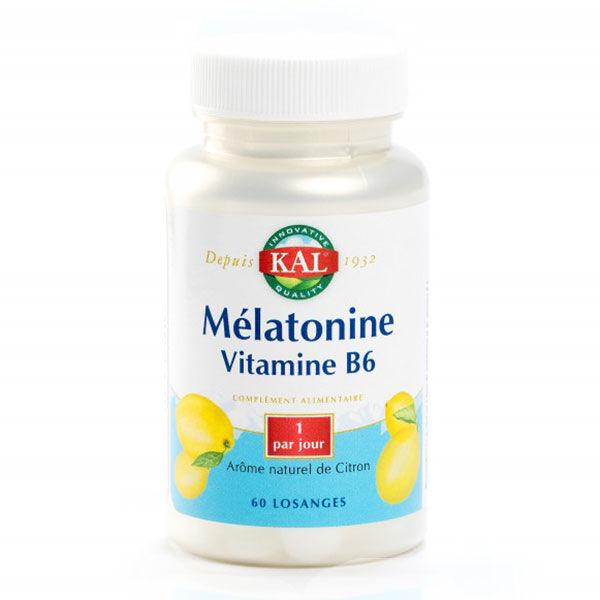 Kal Mélatonine + Vitamine B6 60 comprimés