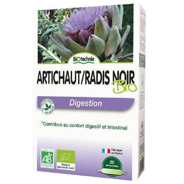 Biotechnie Artichaut et Radis Noir Bio Digestion 20 ampoules