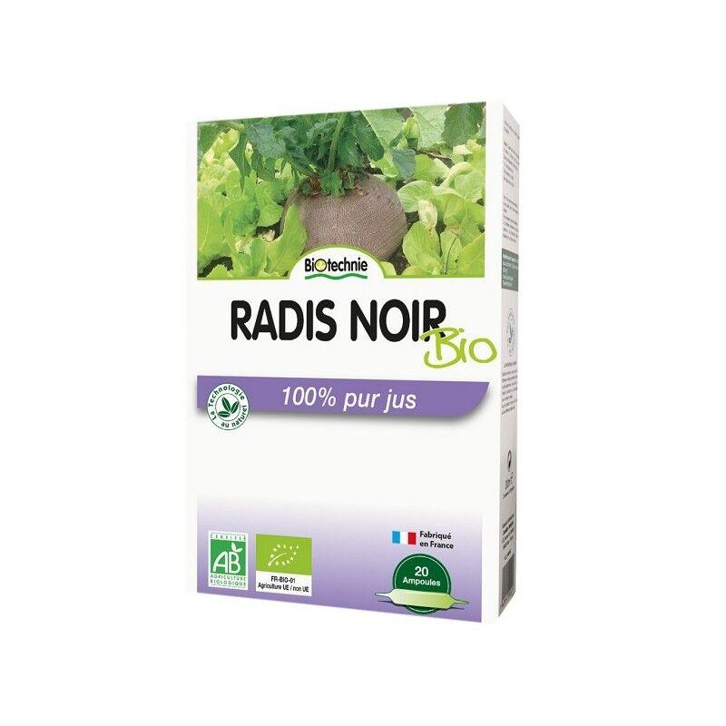 Biotechnie Radis Noir Bio Digestion 20 ampoules