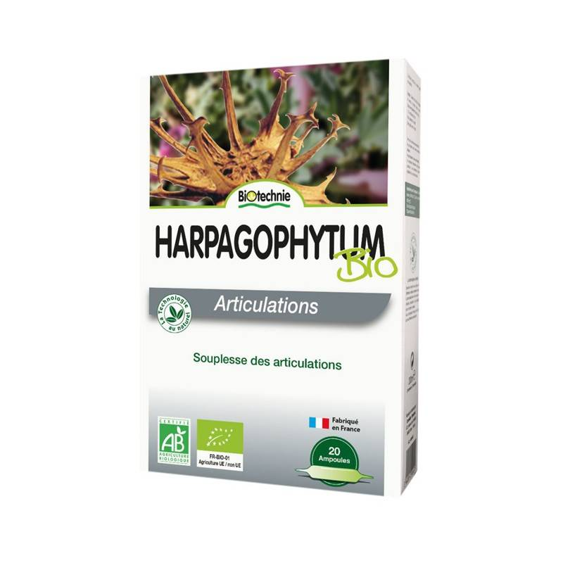 Biotechnie Harpagophytum Bio Articulations 20 ampoules