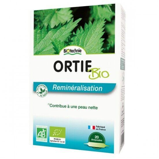 Biotechnie Ortie Bio Reminéralisation 20 ampoules