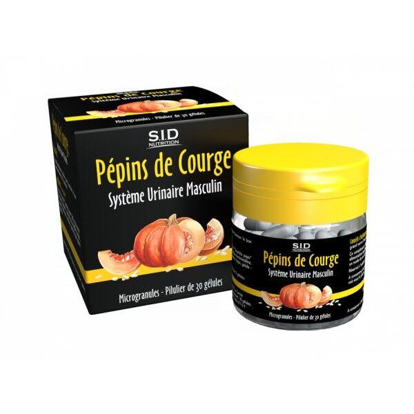 SID Nutrition SIDN Phyto classics Pépin de Courge 30 gélules