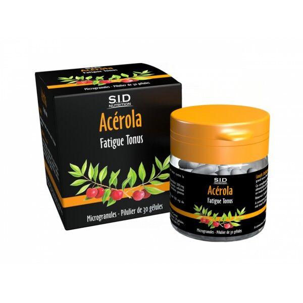SID Nutrition Phyto Classics Acérola 30 gélules