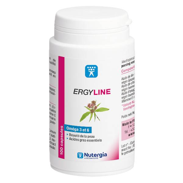 Nutergia Ergyline 100 comprimés