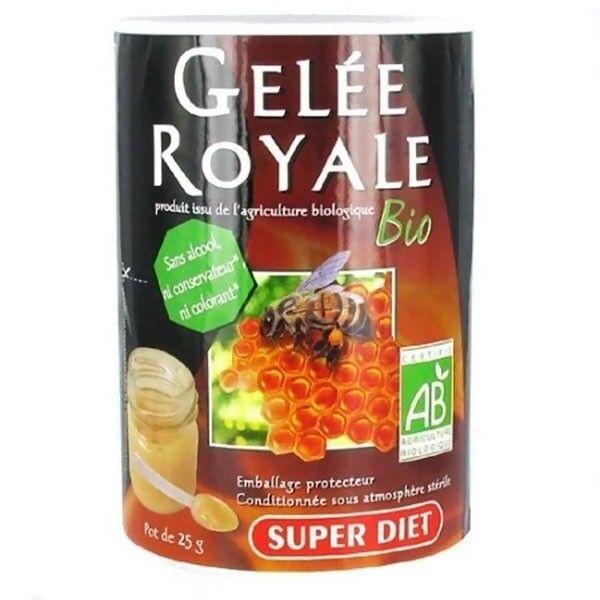 SuperDiet Super Diet Gelée Royale Bio - Pot de 25g