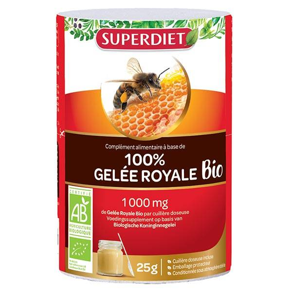 Superdiet Gelée Royale Bio 25g