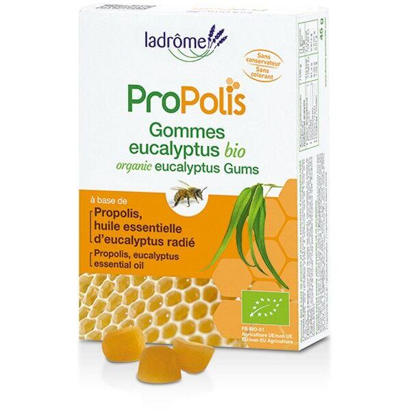 Ladrôme Propolis Gommes Eucalyptus Bio 45g