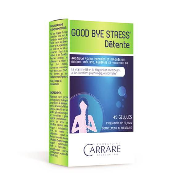 Carrare Good Bye Stress 45 gélules