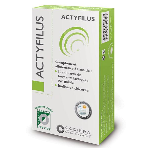 Codifra Actyfilus 30 gélules