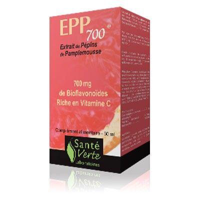 Santé Verte EPP 700 Extrait de Pépins de Pamplemousse 50ml