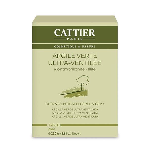 Cattier Argile Verte Ultra Ventilée 250g