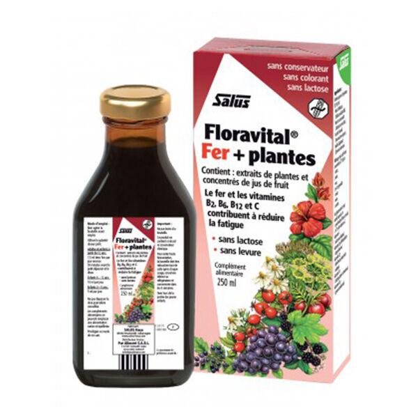 Salus Toniques Floravital Fer + Plantes 250ml