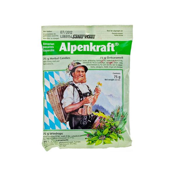 Salus Bonbons aux Plantes Alpenkraft 75g