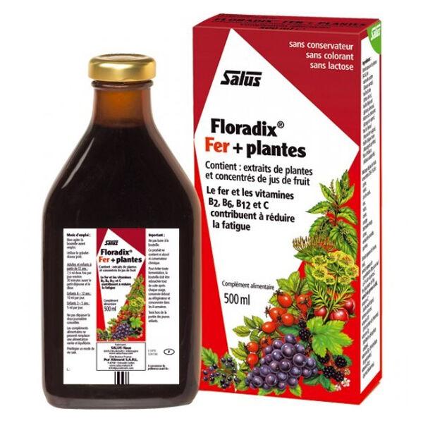 Salus Floradix Fer + Plantes 500ml