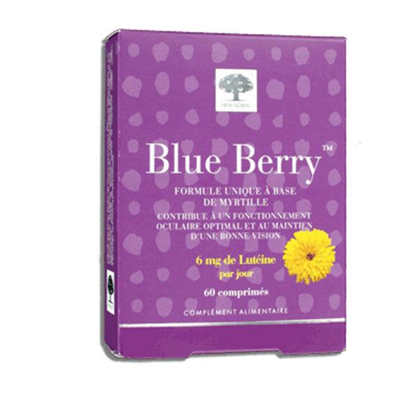New Nordic Blueberry 60 comprimés