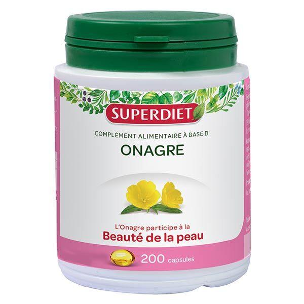 SuperDiet Super Diet Huile d'Onagre 200 capsules