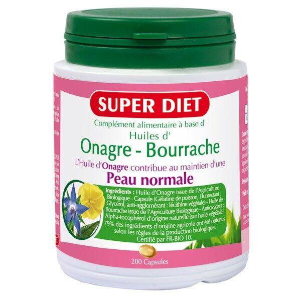 SuperDiet Super Diet Onagre-Bourrache 200 capsules