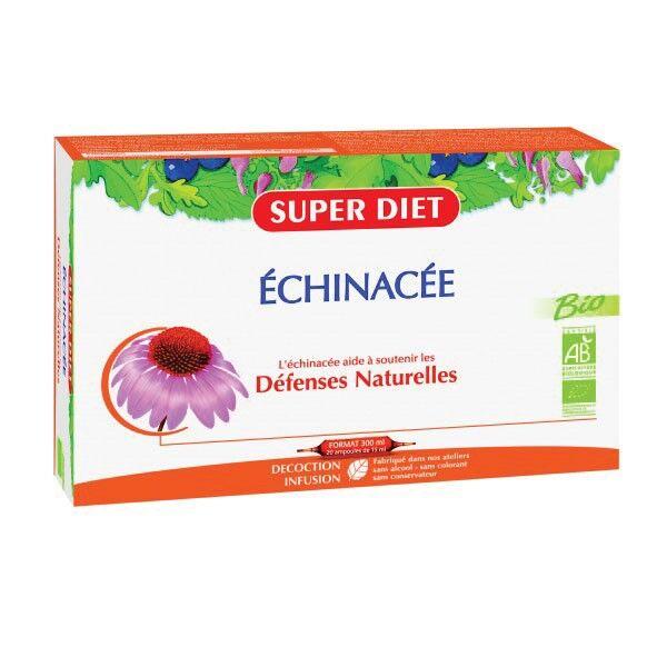 Super Diet Echinacee Bio - 20 ampoules de 15ml