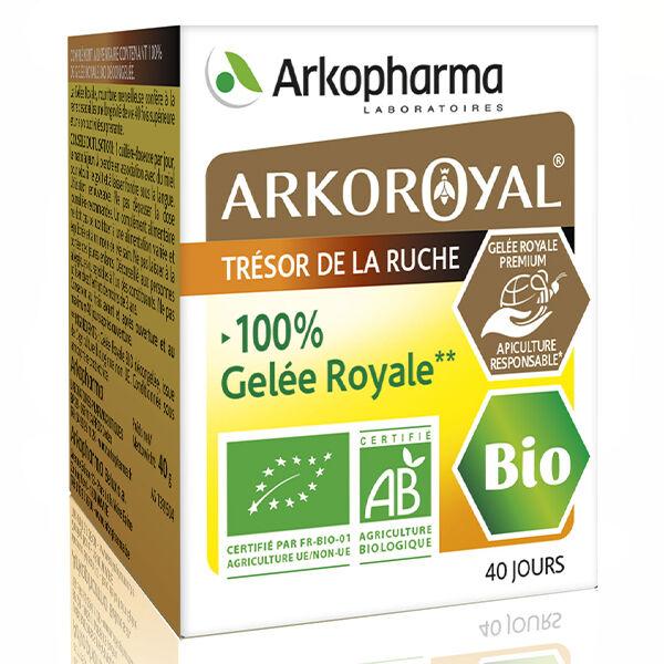 Arkopharma Arkoroyal Trésors de la Ruche Gelée Royale Bio 40g