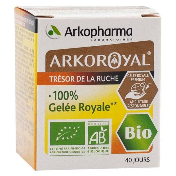 Arkopharma Arkoroyal Défenses Naturelles Gelée Royale Bio 40g