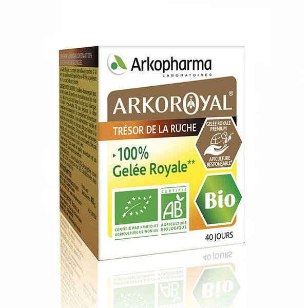 Arkopharma Arkoroyal 100% Gelée Royale Bio Pot 40g