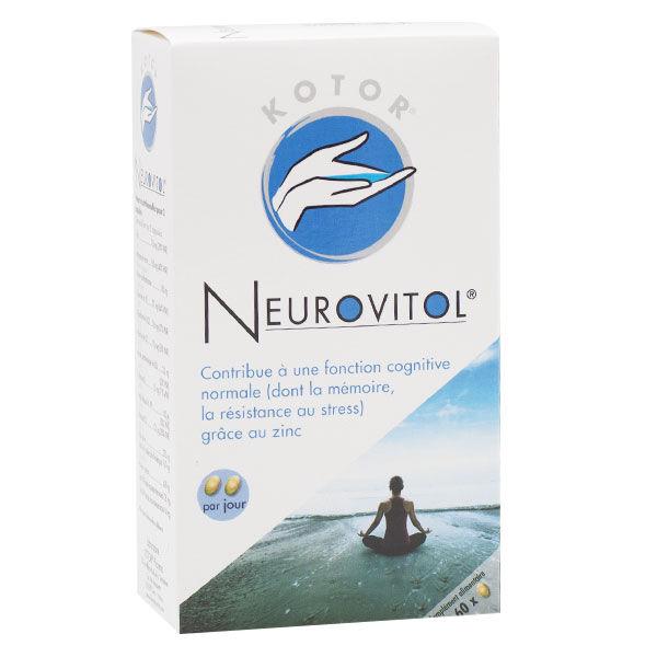 Kotor Pharma Neurovitol Stress Mémoire 60 capsules