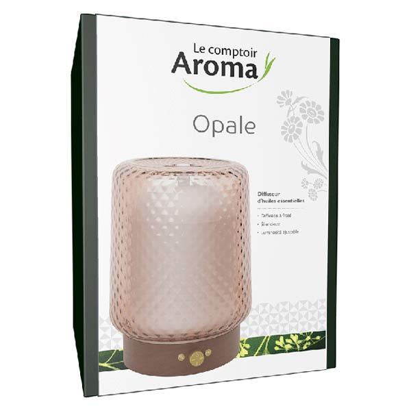 Le Comptoir Aroma Diffuseur d'Huiles Essentielles Opale