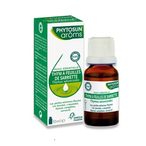 Phytosun Aroms Huile Essentielle Thym à feuilles de Sarriette 10ml