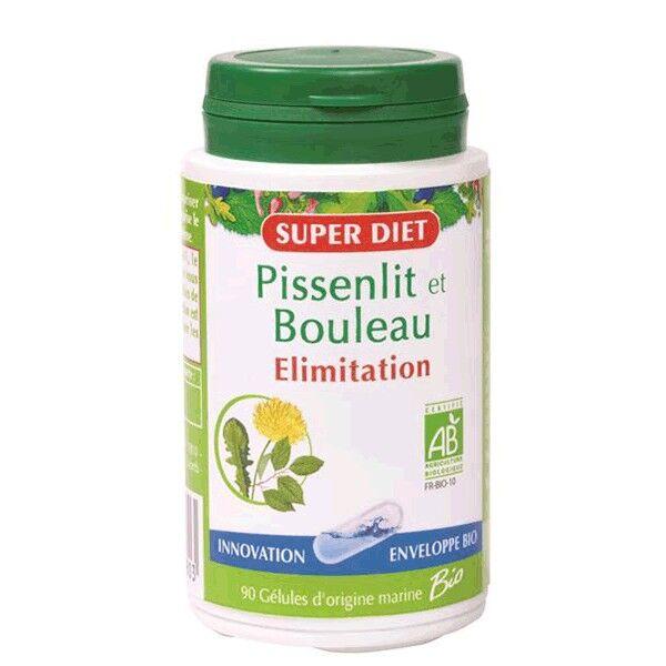 SuperDiet Super Diet Pissenlit - Bouleau Bio - 90 gélules