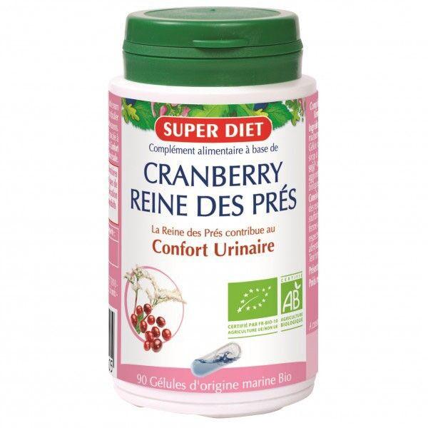 Super Diet Cranberry - Reine des Pres Bio - 90 gélules